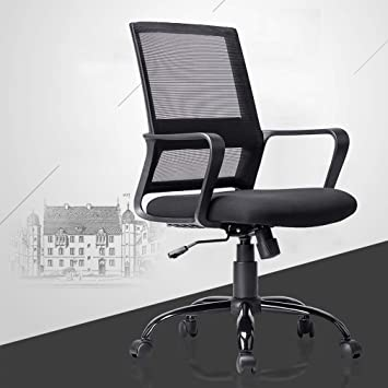 Cool Ergonomic Office Chair Desk Chair Mesh Computer Chair With Lumbar Support Arms Modern Executive Rolling Swivel Mid Back Task Chair For Women Lamtechconsult Wood Chair Design Ideas Lamtechconsultcom