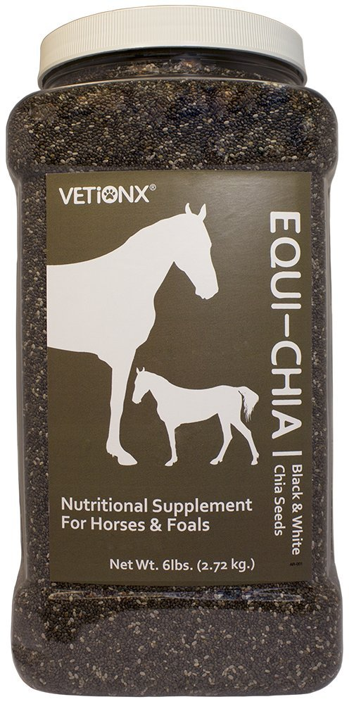 VETiONX Equi-Chia - Chia Seed Blend for Equine Wellness Support
