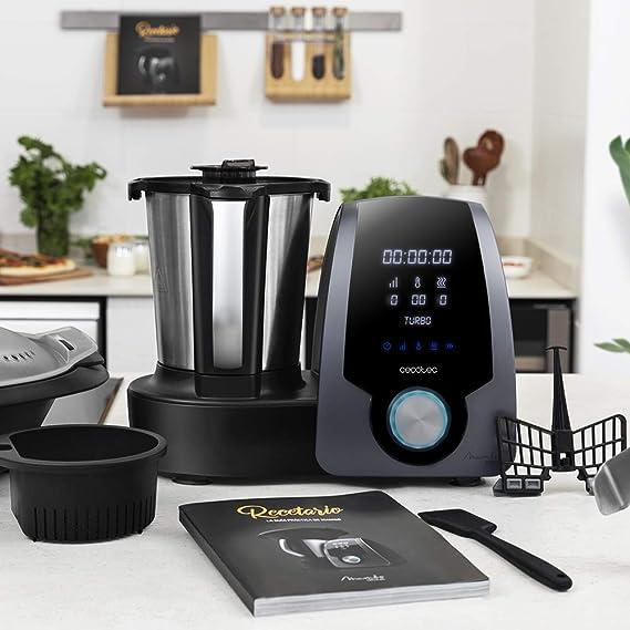 Cecotec Robot de Cocina Multifunción Mambo 7090. Capacidad 3.3L ...