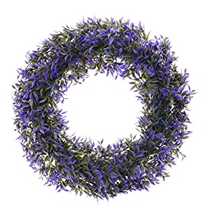 Saim Front Door Wreaths Artificial Flowers Garland for Indoor Outdoor Home Kitchen Wall Wedding Festival Holiday Decorations 37