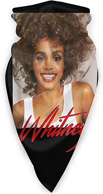 Tyyyy Whitney Houston Sports Face Cover Mouth Cover