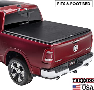 1446901 TruXedo Pro X15 Soft Roll-up Truck Bed Tonneau Cover fits 10-18 Ram 2500//3500 64 Bed