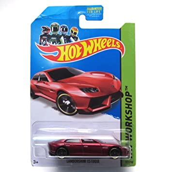 Awesome Lamborghini Estoque U002714 Hot Wheels 197/250 (Red) Vehicle
