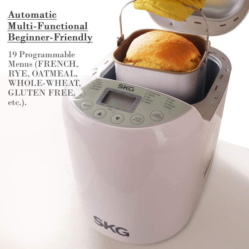 Amazon.com: Máquina panificadora de 2 libras de peso ...