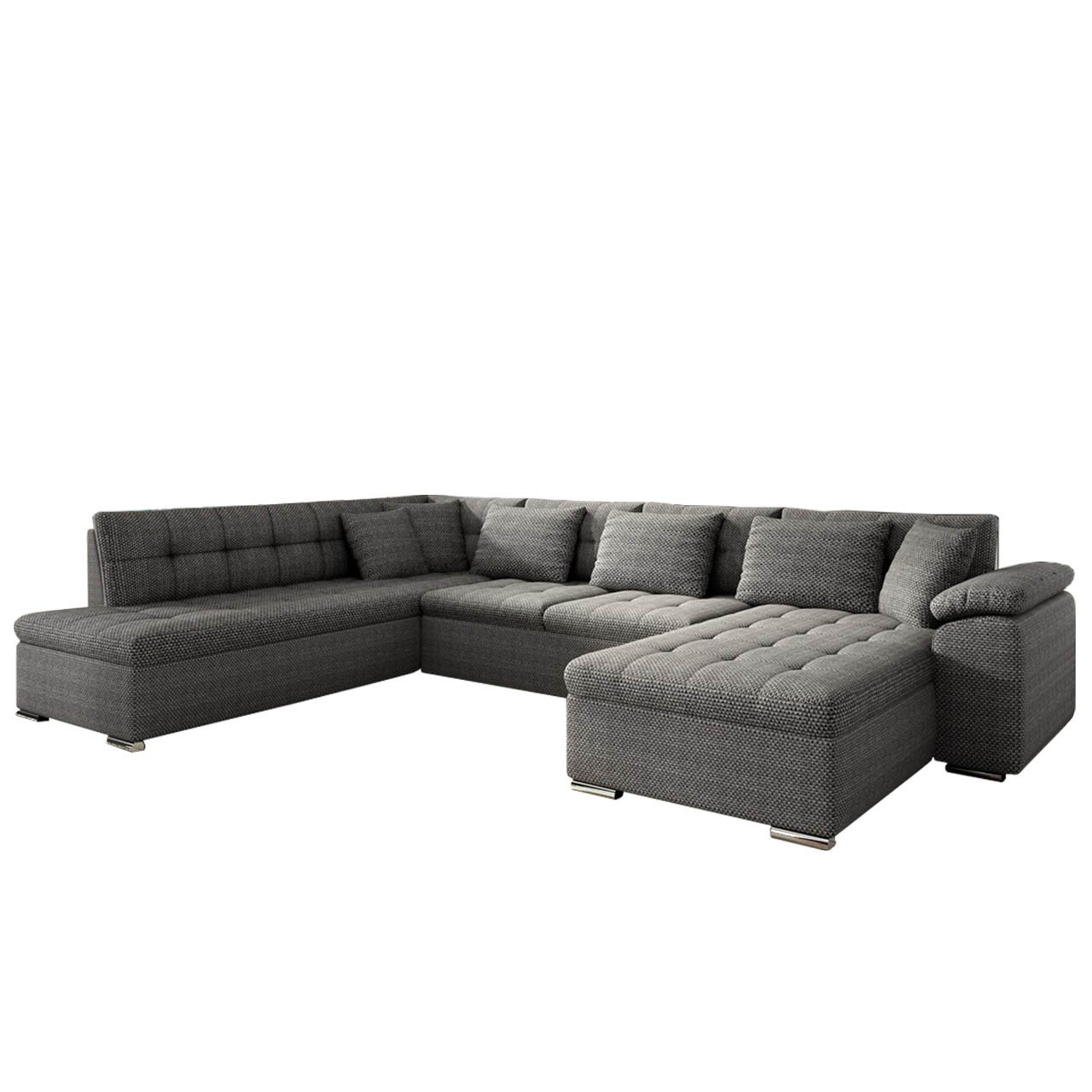 eckcouch ecksofa niko bis design sofa couch mit schlaffunktion und bettkasten u sofa gro e. Black Bedroom Furniture Sets. Home Design Ideas
