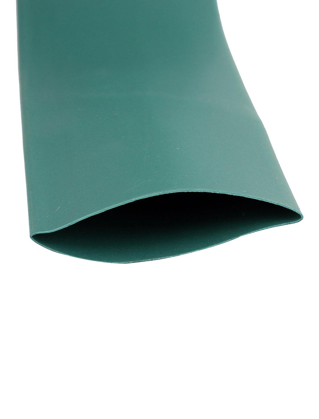 3m Largo 35mm Dia 2:1 Poliolefina Tubo Termorretr/áctil Funda Verde