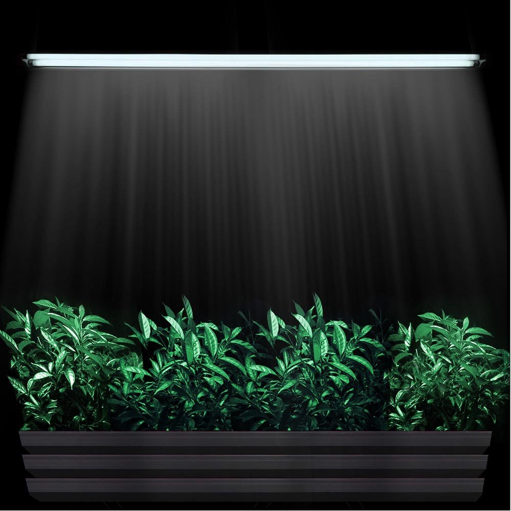 Yescom T5 4ft Grow Light 2x 6500K HO 48
