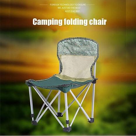 AGWa Silla de camping Oxford Paño Silla plegable al aire ...