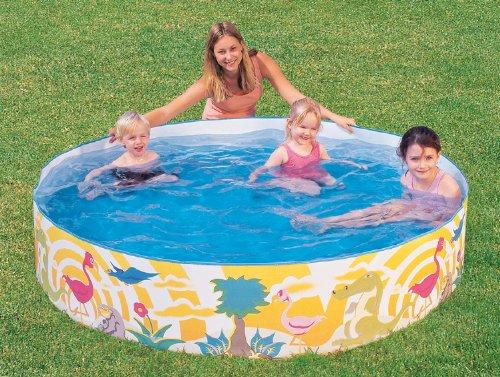 Bestway Kinder Pool Schwimmbecken Planschbecken 244x46: Amazon.de: Spielzeug