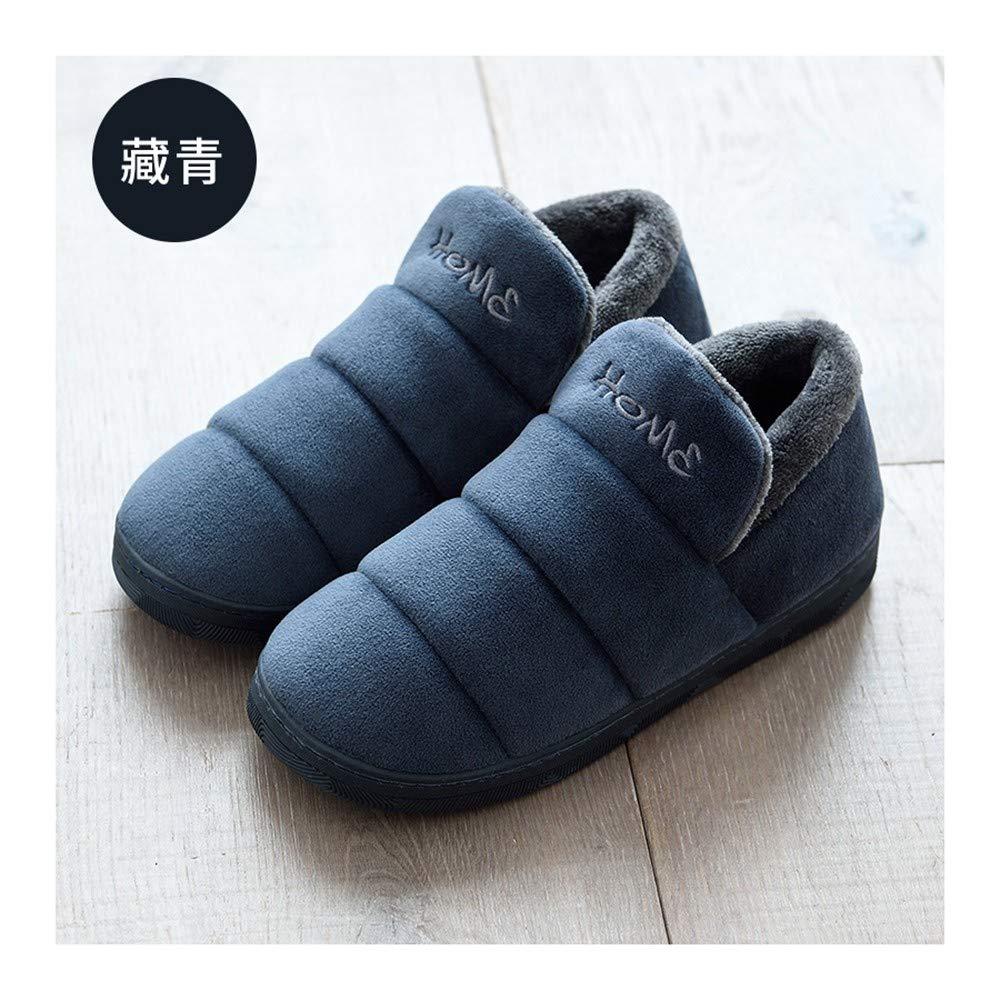 GAOHUI Slippers Männer Frauen Thermisch Anti Slip Home Hausschuhe Aus Baumwolle Winter Innen- Schuhe Outdoor Package Liebhaber'