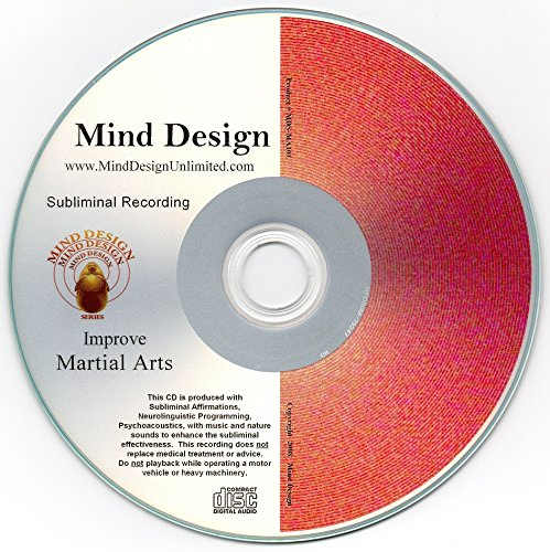 Improve Martial Arts Skills Subliminal CD - Any Martial Arts Style Can Be Improved - Naturally!! Karate Taekwondo Jujutsu Judo