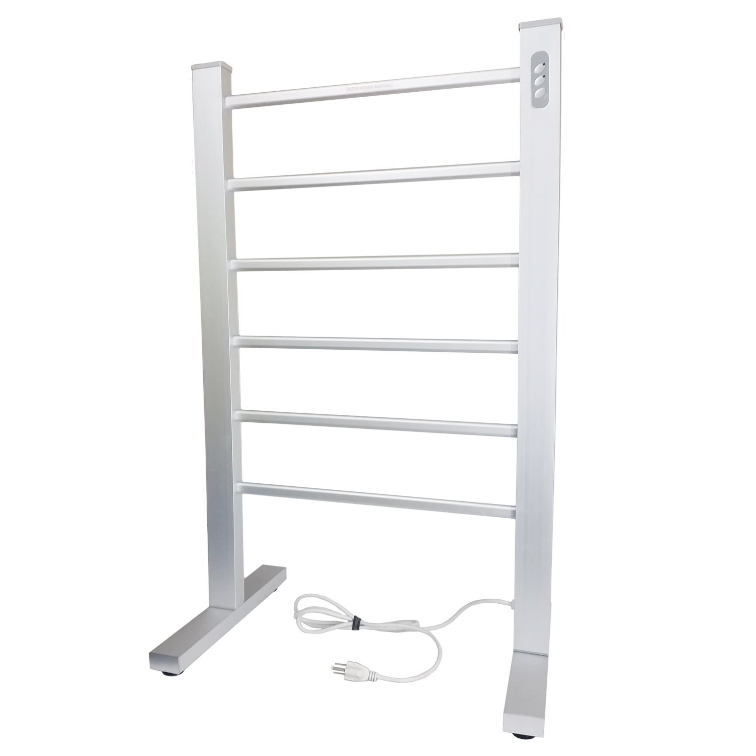 Towel Heater Rack: Electric Towel Warmer With Dual Temperature Auto Shut Off