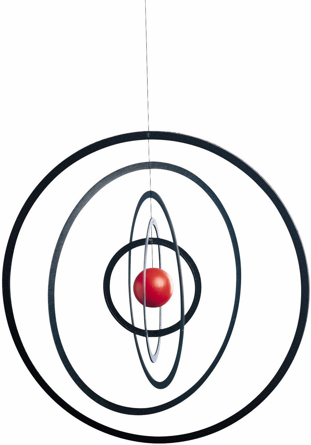 Flensted Mobiles Science Fiction Hanging Mobile - 10 Inches - Wood by Flensted Mobiles
