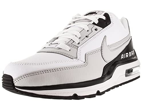 sports shoes 96e59 8ffe3 Nike Air Max LTD 3 Men s Running Shoes White Neutral Grey Black 7.5 D(M) US   Buy Online at Low Prices in India - Amazon.in