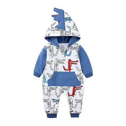 Unisex Infant Snowman Romper Onesies Baby Boys Girls White Long Sleeves Bodysuit Jumpsuit Outfit