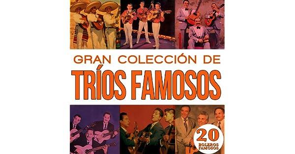 Amazon.com: Gran Colección Trios Famosos 20 Boleros Famosos ...