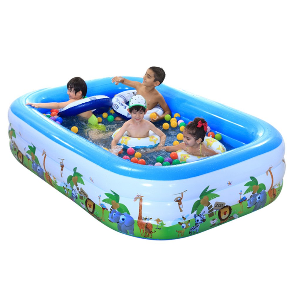 Familie Deluxe aufblasbare Schwimmbecken/Eltern-marine Ball-Pool/Kinderplanschbecken/Partie Billard-B