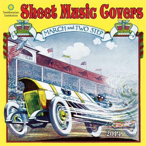 2014 Sheet Music Covers Wall