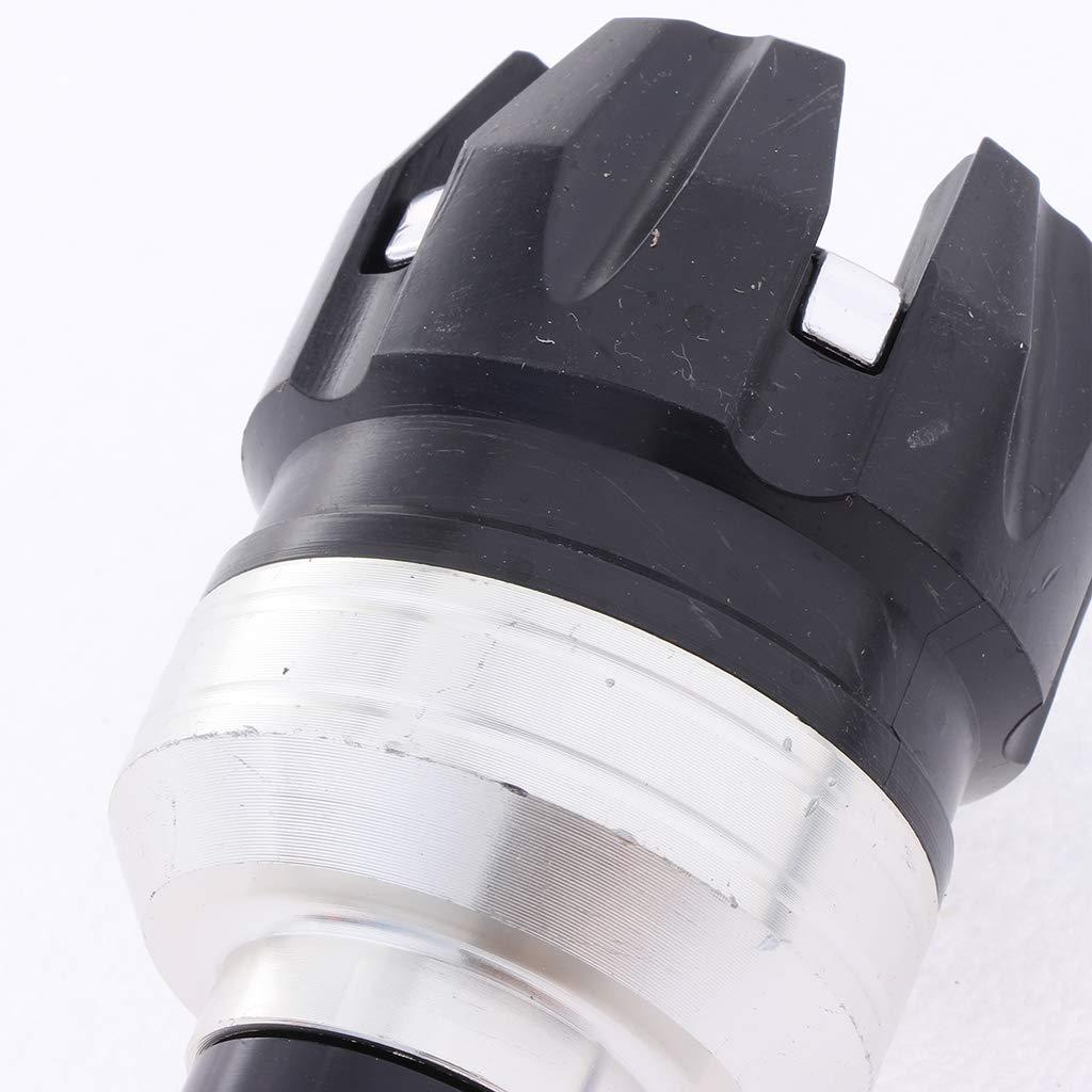 Almencla Protector Deslizante Antivuelco de Amortiguador de Ca/ída rojo Universal para Moto