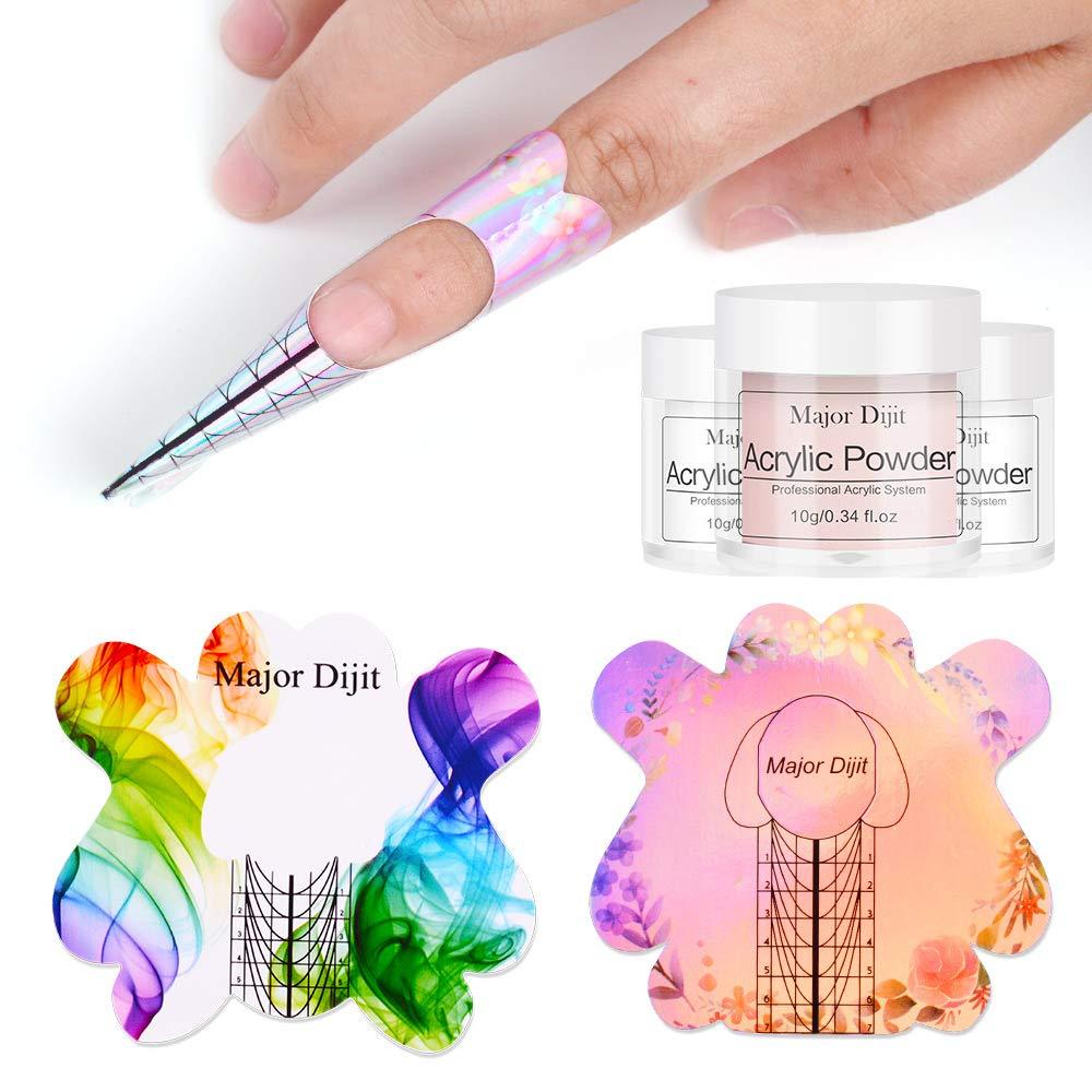 Anself Acryl Pulver Set Acrylpulver für nägel von 25 Farben ...