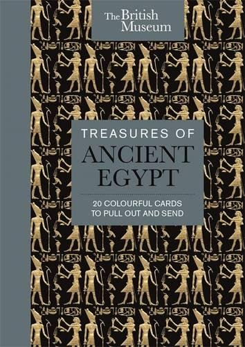 The British Museum: Treasures of Ancient Egypt: 20 Colourful Cards to Pull Out and Send by Michael O'Mara