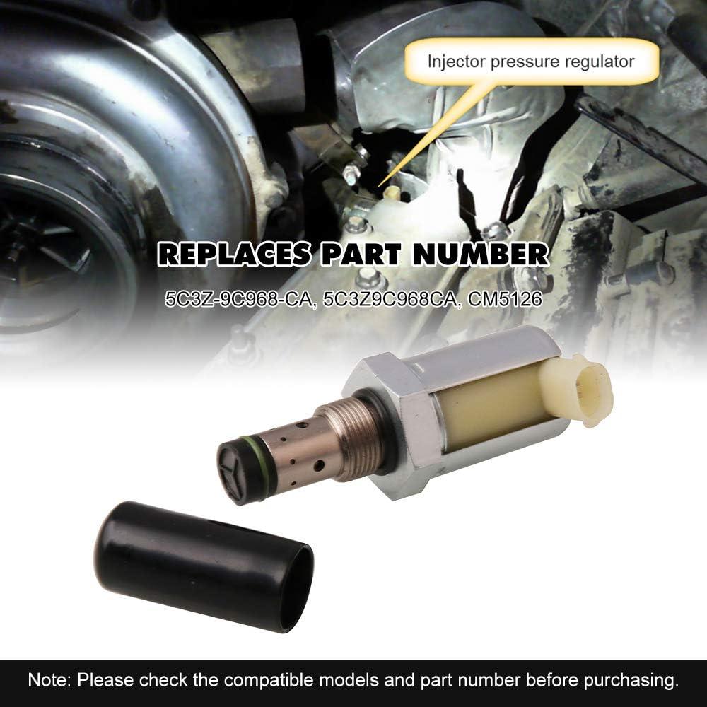 Jeyaic Spray Pressure Regulator 6.0L IPR Valve Pressure Valve Injector Replaces 5C3Z9C968CA for F-ord 2005-2007