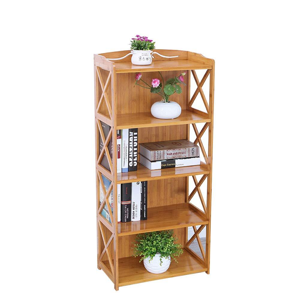 オープンシェルフラック 本棚シンプルな多層竹棚ソリッドウッドランディングアセンブリ本棚5thフロア (Size : 69cm) B07SSLJTFM  69cm
