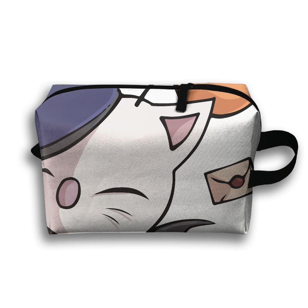 Dream Cat Small Travel Toiletry Bagスーパーライトトイレタリーオーガナイザー一泊旅行用バッグ B07BC9QKFB