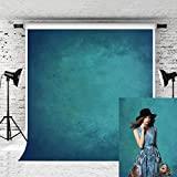 Kate 10X20ft Old Master Photography Backdrop Retro Abstract Blue Microfiber Background for Photographer Photo Studio Props