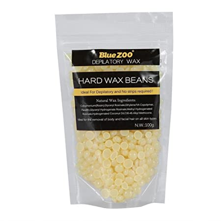 Hard Wax Beans Hair Removal No Strip Arm Pierna Depilatoria 10 Tipos 100g / bolsa(chocolate): Amazon.es: Belleza