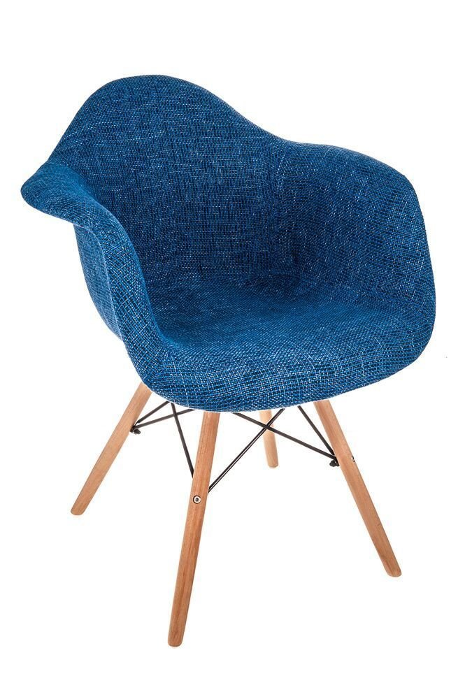 Costello PATCHWORK PREMIUM FABRIC RETRO WOODEN LOUNGE LEISURE CHAIR LIVING BED ROOM INDOOR/OUTDOOR SUN PATIO GARDEN SEAT CONSERVATORY OFFICE MODERN TUB DINING ☆FREE NEXT DAY UK MAINLAND DELIVERY☆SAME DAY DISPATCH BEFORE 2PM☆ (BLUE PATCHWORK CHAIR) Costell