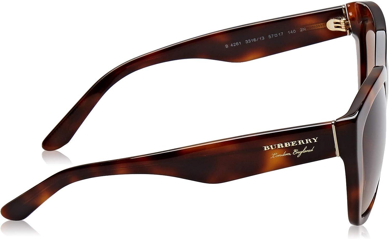 Burberry 0BE4261 Light Havana/Brown Gradient One Size