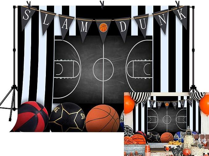 LYLYCTY LYLS929 - Canasta de Baloncesto para Fiestas temáticas de Slam Dunk, banderines Deportivos, Fondo de fotografía: Amazon.es: Electrónica