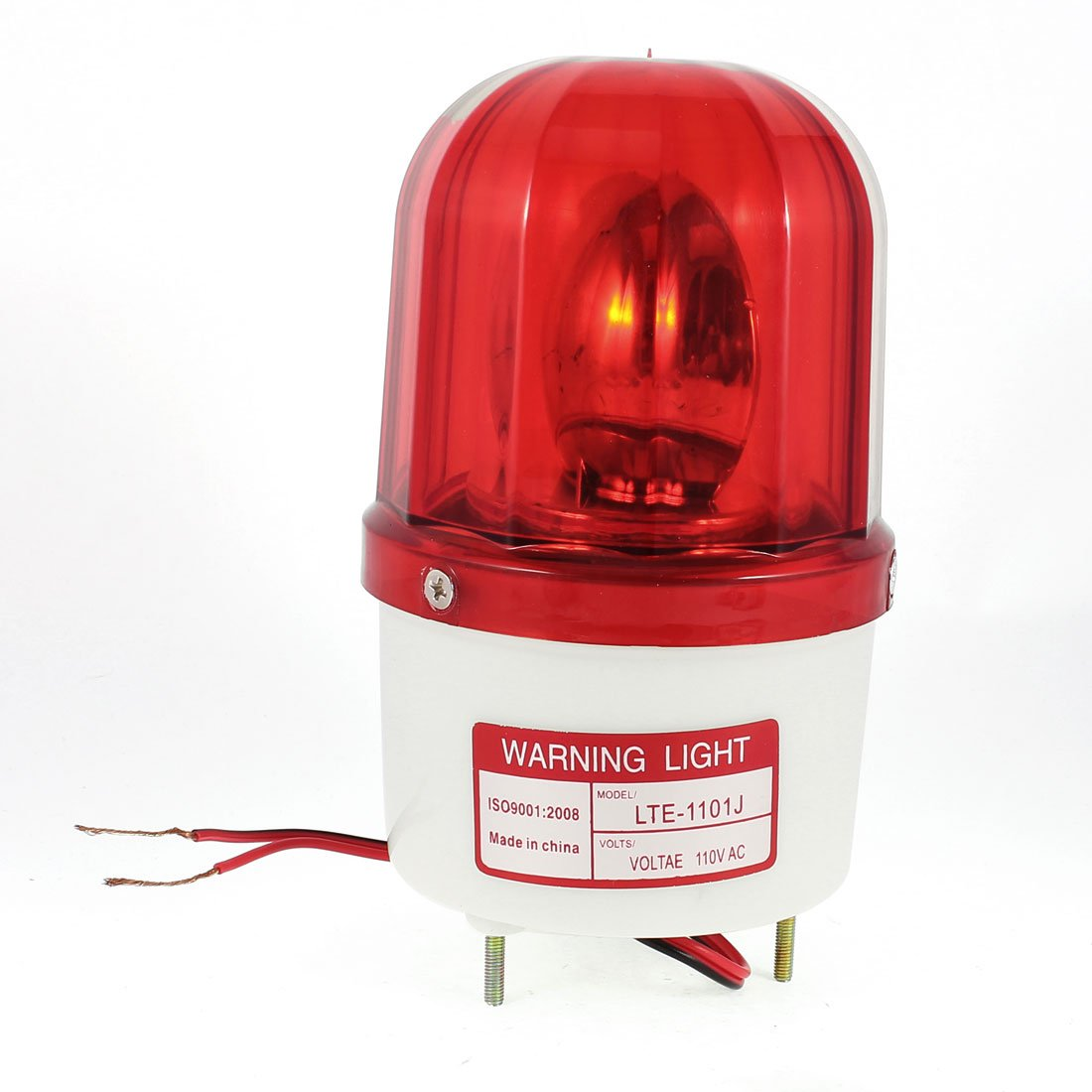 Sourcingmap DC 24V Safety Stack Green Red Yellow Flash Signal Tower Warning Light