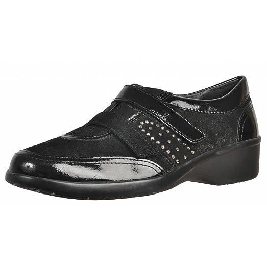 Zapatos de cordones para mujer, color Negro , marca STONEFLY, modelo Zapatos De Cordones Para Mujer STONEFLY PASEO II 72 Negro