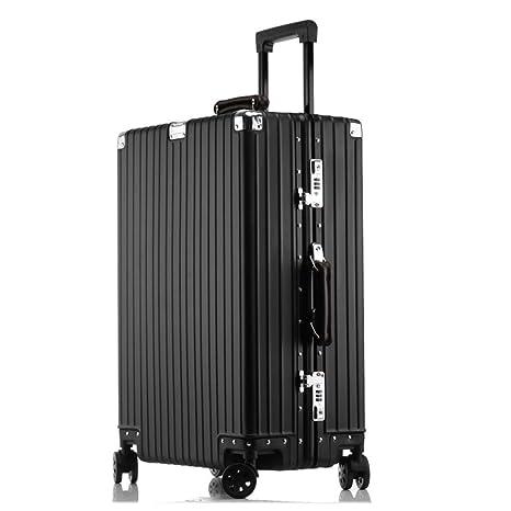 HWX Maleta de Viaje con Equipaje Retro Bolso de Equipaje Premium con Registro de Moda Vintage