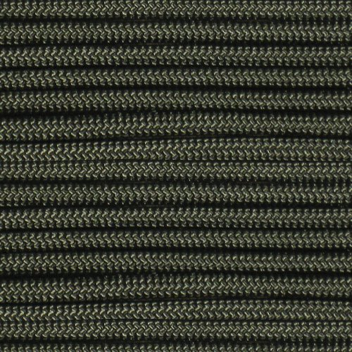 Aka Green (Olive Drab 550 Paracord / Parachute Cord – (AKA Army Green, Olive, or Military Green in Color) 550LB Breaking Strength Survival Cordage – Choose options to have on spool or buckles included)