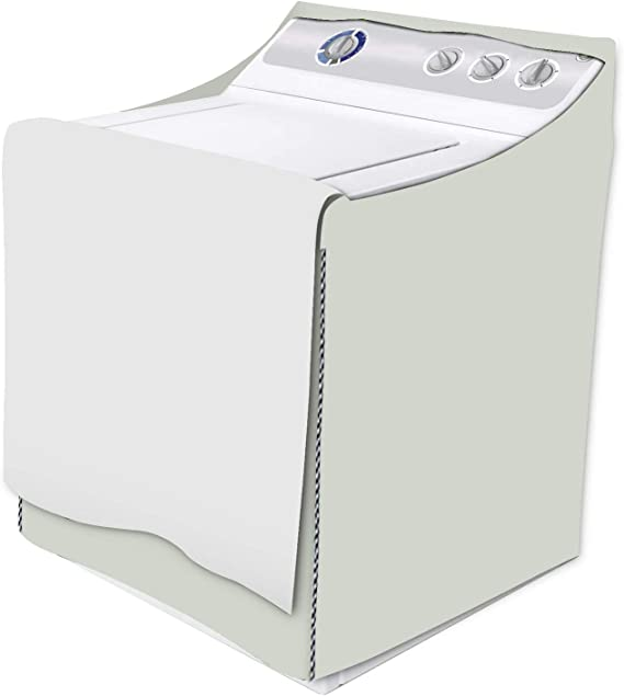 Washing Machine Cover All Weather Protection W29D28H40in,Black Washer//Dryer Cover Fit Most Top-loading or Front-loading Machine