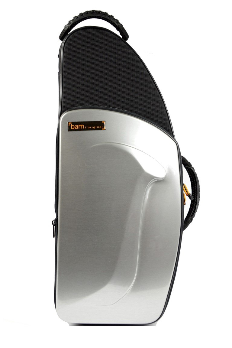 Bam New Trekking Alto Sax Case - Brushed Aluminum - TREK3021S