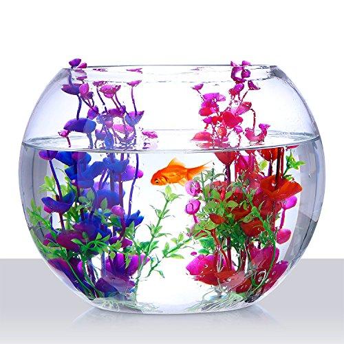 Mudder-Artificial-Aquatic-Plants-Aquarium-Plants-Plastic-Fish-Tank-Decorations-75-Inch-2-Pieces