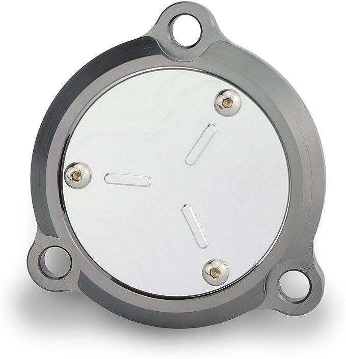 Heinmo CNC Coperchio foro telaio anteriore Coperchio albero di trasmissione Protezione accessori per Tmax 530 2012-17