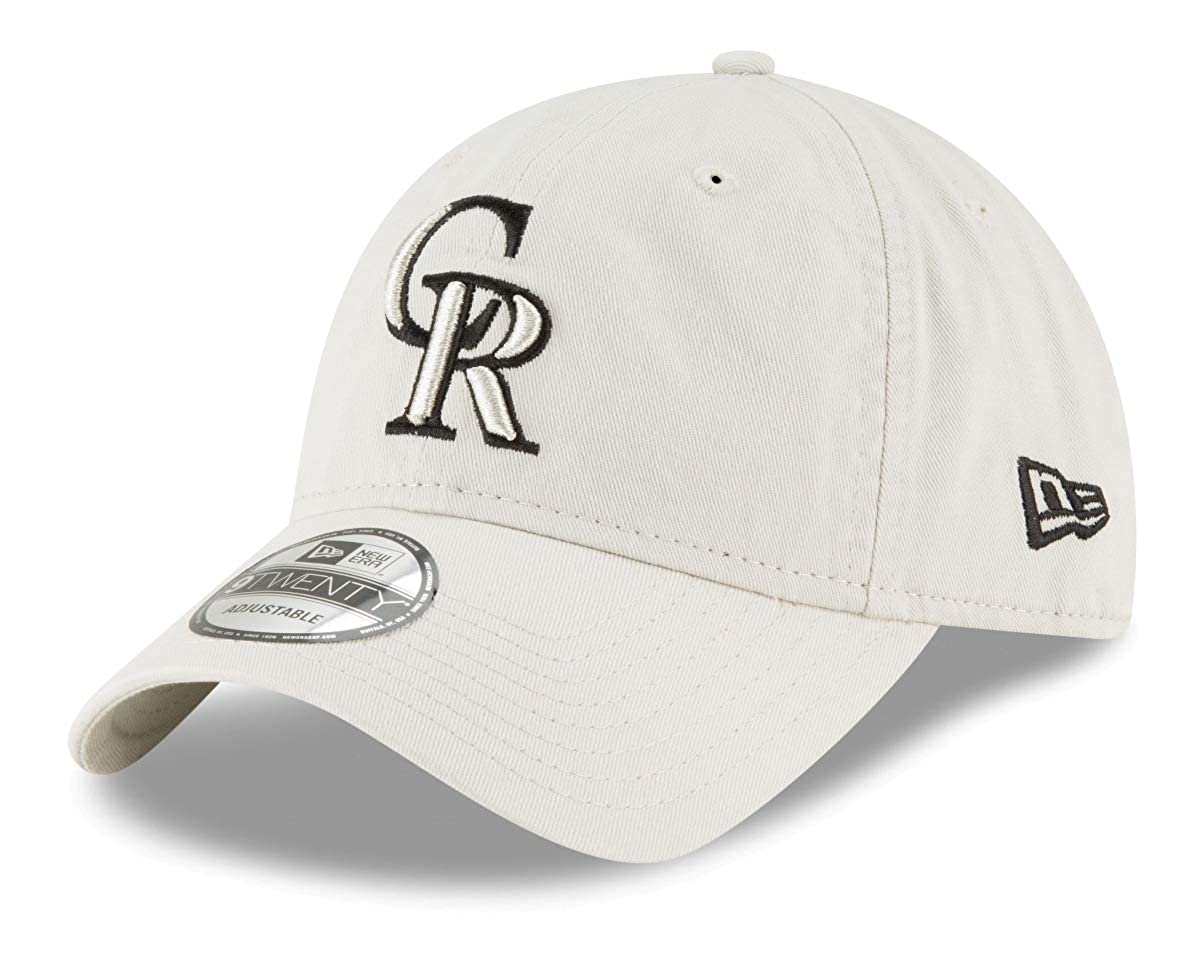New Era Colorado Rockies MLB 9Twenty Core Classic Stone Adjustable Hat