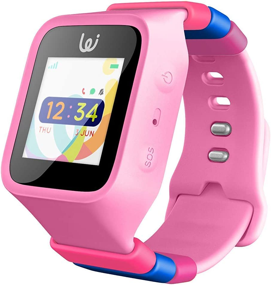 iGPS Wizard Smart Watch for Kids with SIM Card - Live GPS Tracking - Voice Calling