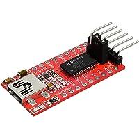 AZDelivery FTDI Adapter FT232RL USB naar TTL Serial voor 3.3V en 5V compatibel met Arduino Inclusief E-Book!