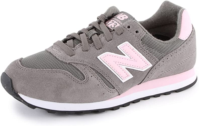 New Balance , Damen Sneaker Rosa Grau/Pink: Amazon.de ...