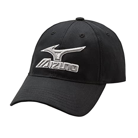 809251414b2 Mizuno 370210.9091.10.ONE Low Profile Adjustable Hat One-Size Black-Grey