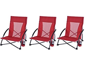 Ozark Trail Low Profile Chair (3 Packs)