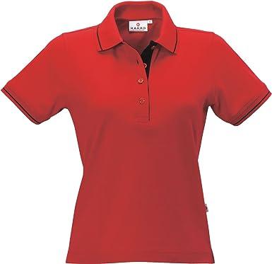 HAKRO Damen Polo-Shirt Casual - 203 - mehrere Farben  Amazon.de  Bekleidung 0b4306d042