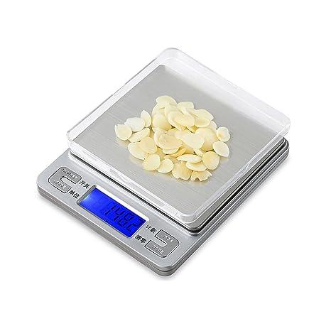 QIAOJIANE Kitchen Scale Escala de la joyería Escala de precisión Mini Escala electrónica Escala de la