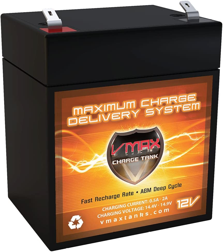12AEA29L011 VMAXTANKS V06-43 F1 AGM 12V 6ah Battery Upgrade Compatible with Troy-Bilt TB270ES Self-Propelled Walk-Behind Mower 2010